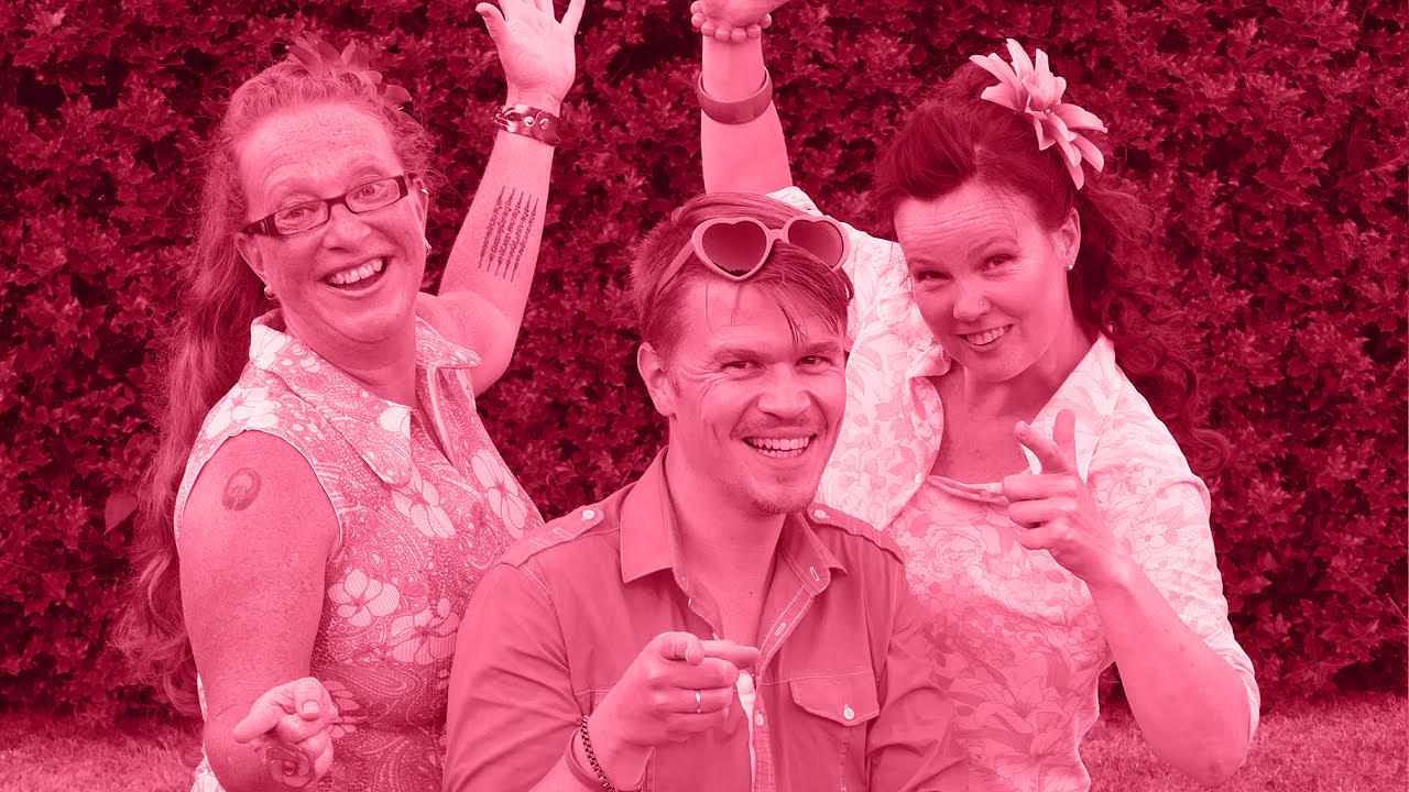 Pink Rebels tolerant roze woensdag schrijven zingen spelen